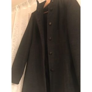 Coercion London Fitted Peacoat